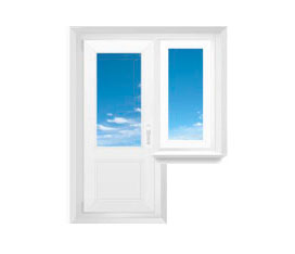 Конструктивные различия стеклянных балконных дверей