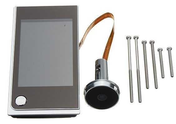 Беспроводной видеоглазок на двери в виде обычного