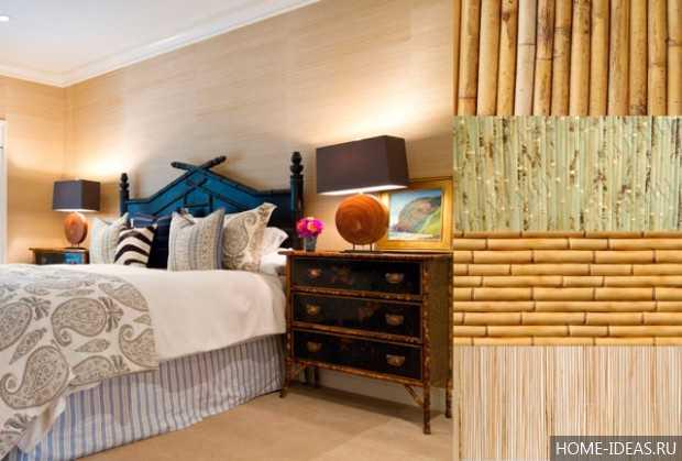 Бамбуковые обои в интерьере: 25 красивых фото бамбуковых обоев
