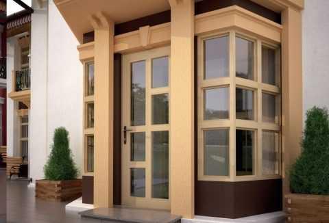 Чем профиль для пластиковых входных дверей отличается от профиля балконной двери?