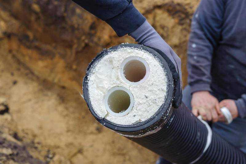 Утепление водопровода в земле: правила теплоизоляции наружных веток
