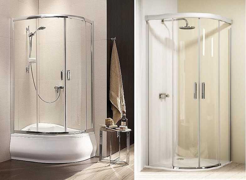 Особенности стеклянных дверей для душевой кабины