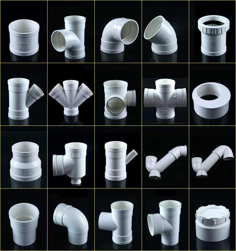 Диаметр канализационных труб: пластиковых, чугунных
