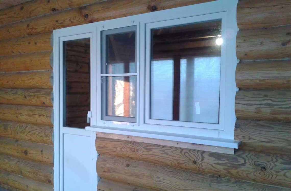 Высота и ширина балконной двери по госту