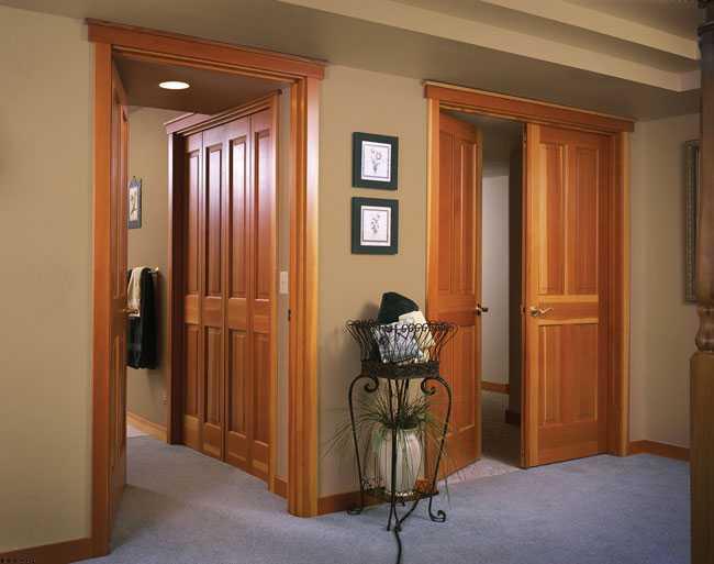 Изготовление дверей из массива ольхи