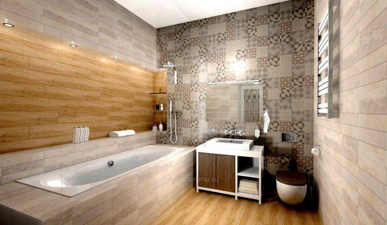 Какая бывает плитка под дерево для оформления стен: керамическая, керамогранит или кафель