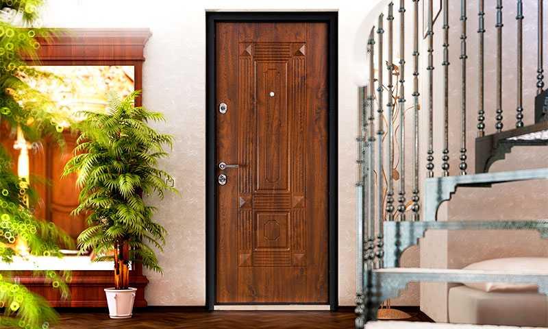 Все про размеры входных дверей с коробкой