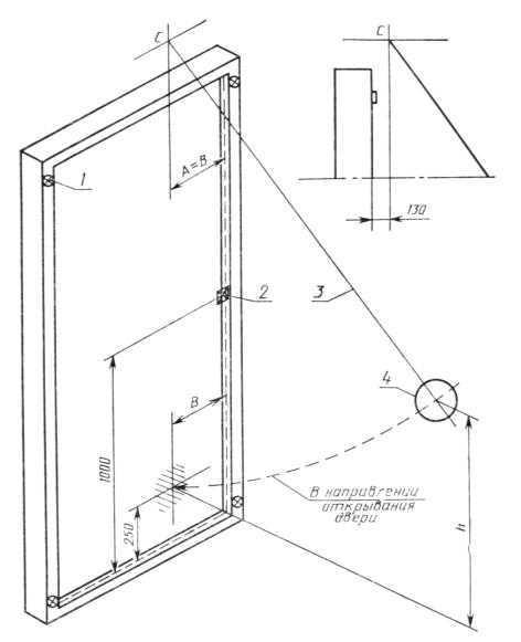 Гост 26892-86 двери деревянные. метод испытания на сопротивление ударной нагрузке, действующей в направлении открывания