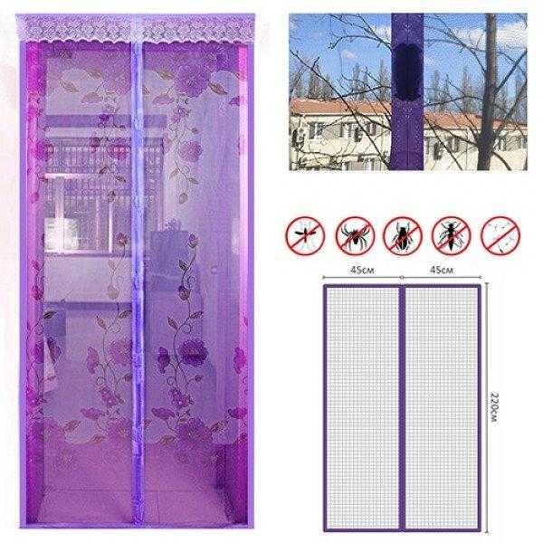 Сетка от комаров на дверь с магнитами: пошаговая установка и уход
