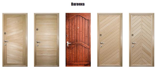 Причины популярности дермантина для облицовки дверей