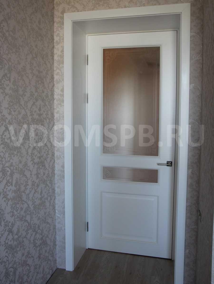 Особенности выбора межкомнатных дверей со стеклянными вставками
