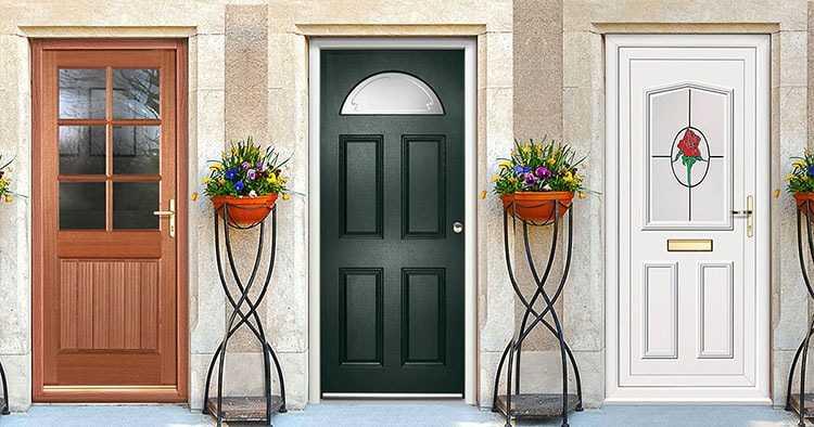 Дверь стеклопакет входная металлическая и деревянные межкомнатные