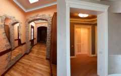 Как можно оформить дверной проем без двери шторами
