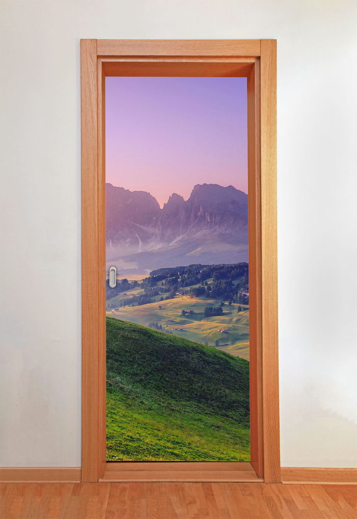 Самоклеящаяся пленка для дверей