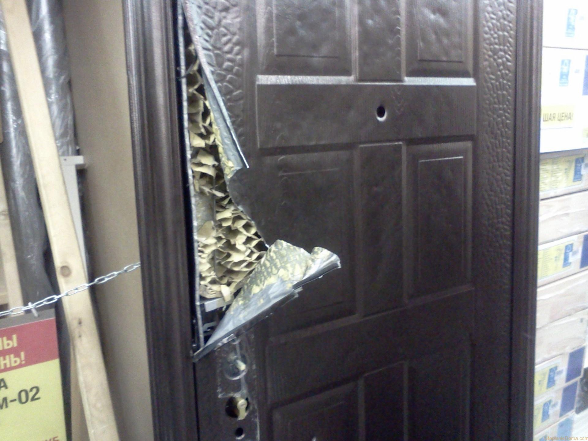Утепление входной металлической двери – правильная теплоизоляция своими руками