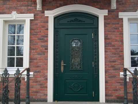 Отделка порога двери