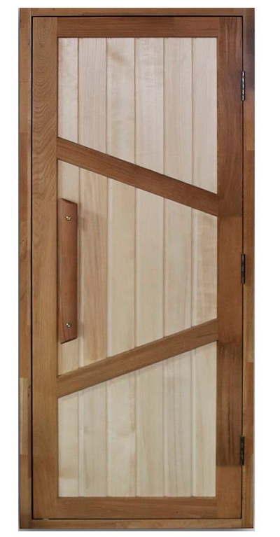 Двери для бани: материалы и нюансы установки