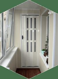 Как сделать дверь-гармошку своими руками: 6 этапов