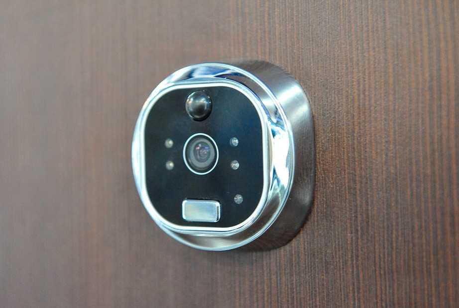 Беспроводной видеоглазок на дверь
