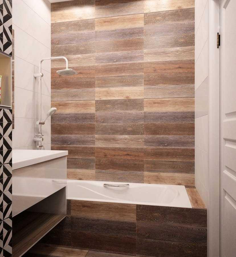 Отделка ванной комнаты деревом: правила и варианты