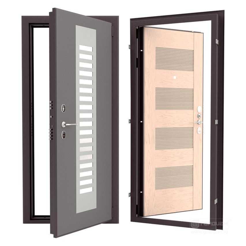 Рейтинг входных дверей: по показателям надежности и по виду отделки