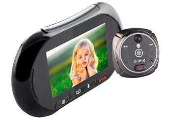 Беспроводной видеоглазок на дверь: входной глазок с видеокамерой в виде обычного для слежки за дверью в квартиру, особенности выбора