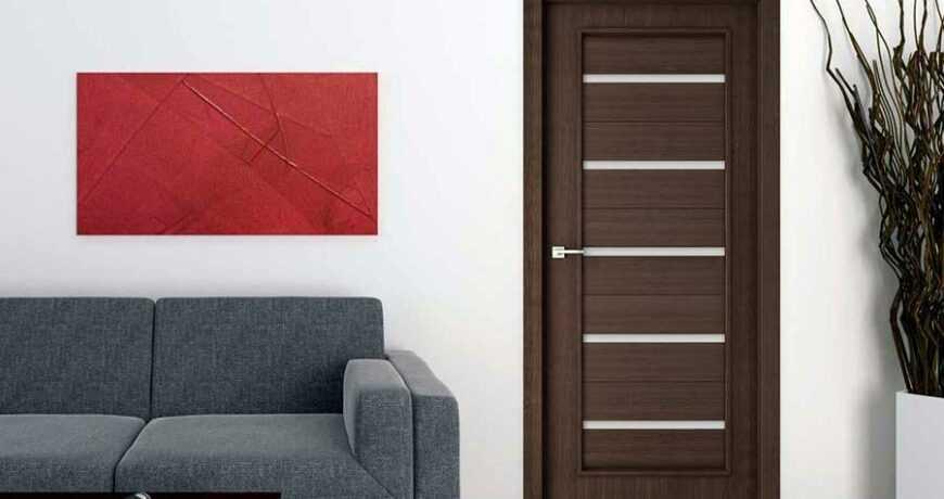 Как выбрать шпонированные двери?