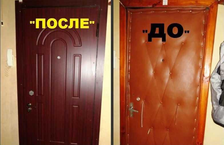 Рассмотрим, как обновить старую дверь: 8 креативных идей
