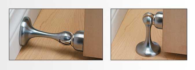 Магнитные ограничители для двери