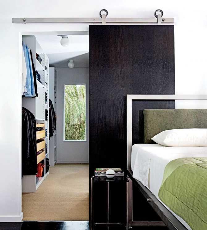 Раздвижная дверь для гардеробной