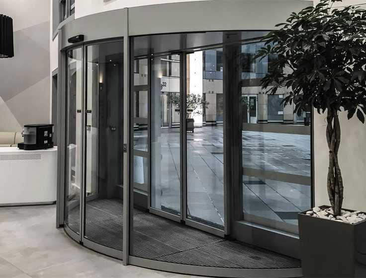 Порядок установки раздвижных дверей