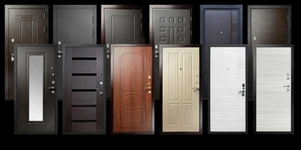 Виды и типы металлических дверей