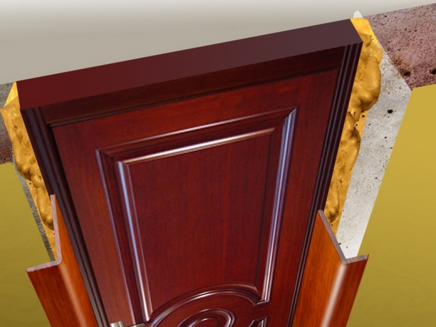 Как сделать порог у входной двери