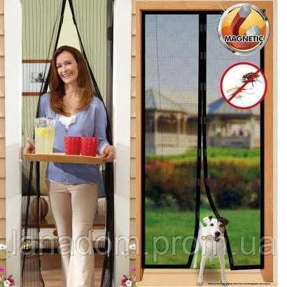Антимоскитная сетка на магнитах на дверь: преимущества, особенности, монтаж