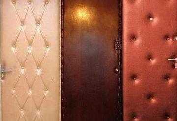Утепление и обивка входных деревянных дверей своими руками