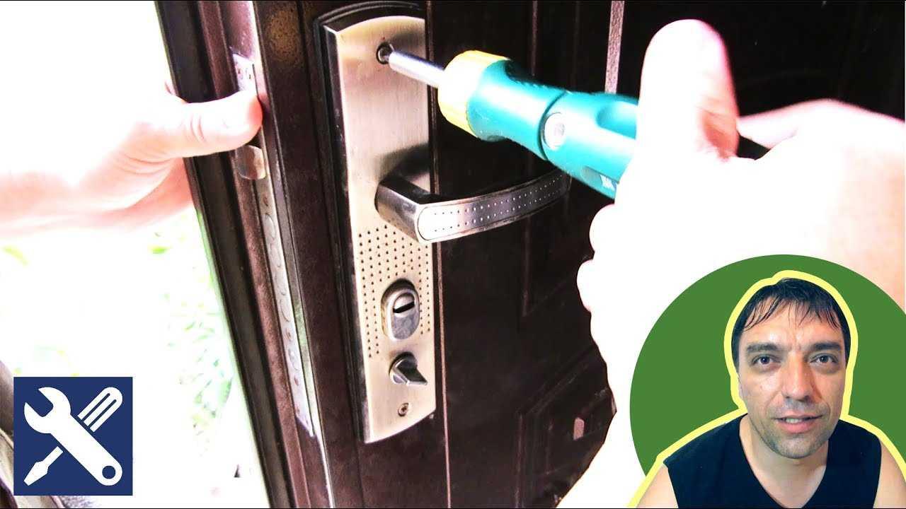 Замена замка в металлической двери в квартире: инструкция по монтажу