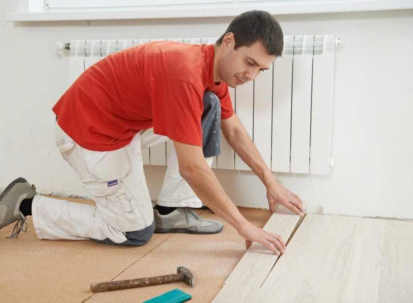 Можно ли укладывать ламинат на деревянные полы?