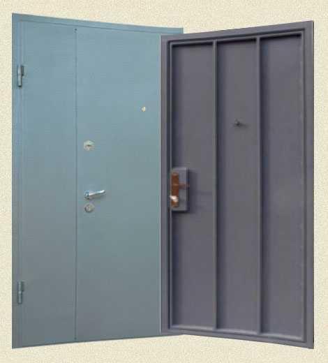 Двери тамбурные металлические