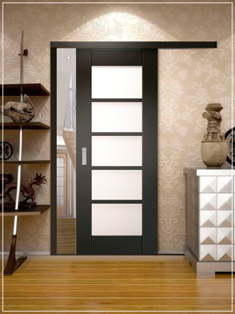 Раздвижные двери для гардеробной: установка конструкции своими руками
