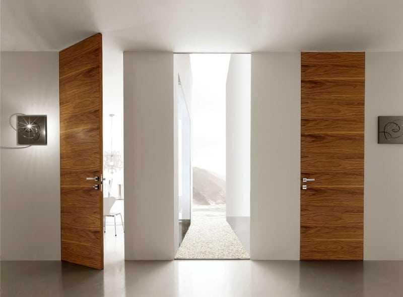 Какие бывают двери: виды межкомнатных и входных дверей