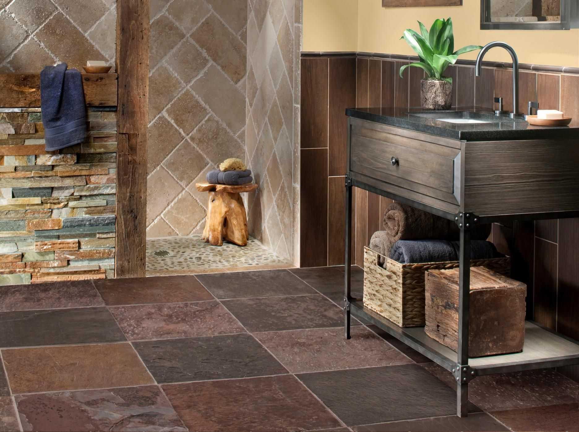 Отделка ванной комнаты деревом: идеи дизайна. белая ванная с бетоном и деревом, серая ванная с камнем и деревом, другие варианты сочетания