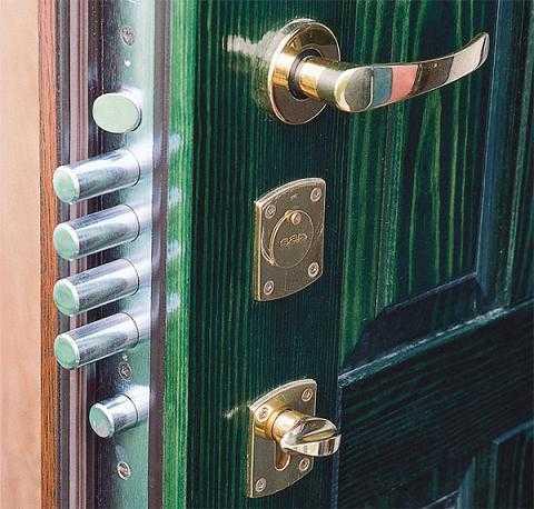 Виды механизмов замков для дверей