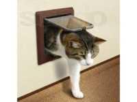 Дверца для кошки в дверь: виды, особенности выбора и как сделать своими руками
