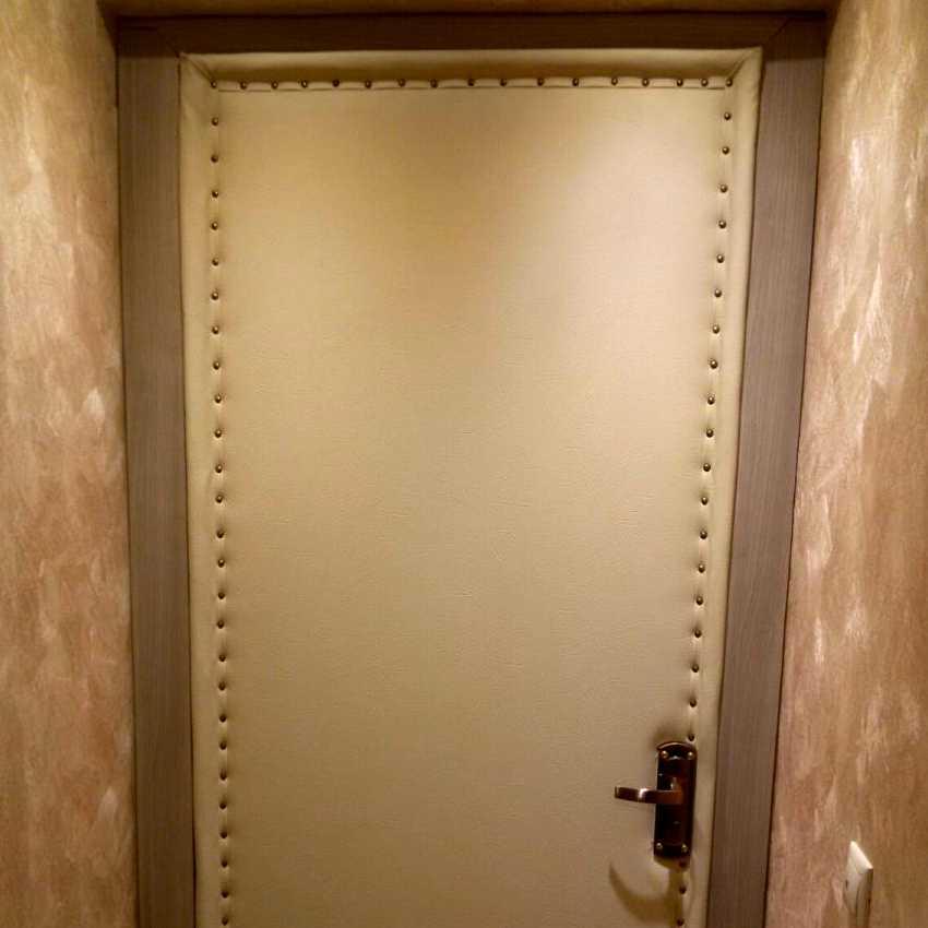Обить дверь дерматином своими руками