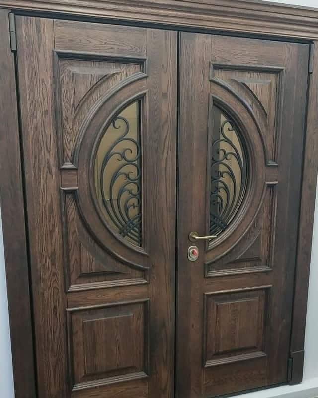 Сочетание дверей венге с интерьером