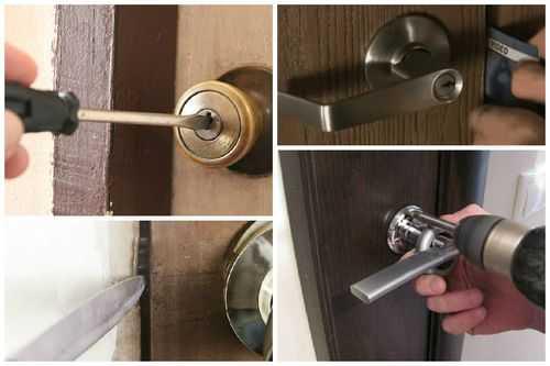 Как открыть замок двери без ключа?