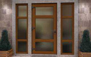 Алюминиевые стеклянные двери — сегодня популярны