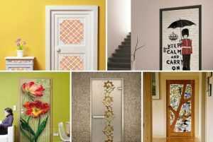 Популярные варианты отделки дверных межкомнатных проемов