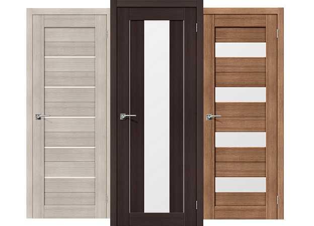 Шпонированные или ламинированные: какие межкомнатные двери лучше?