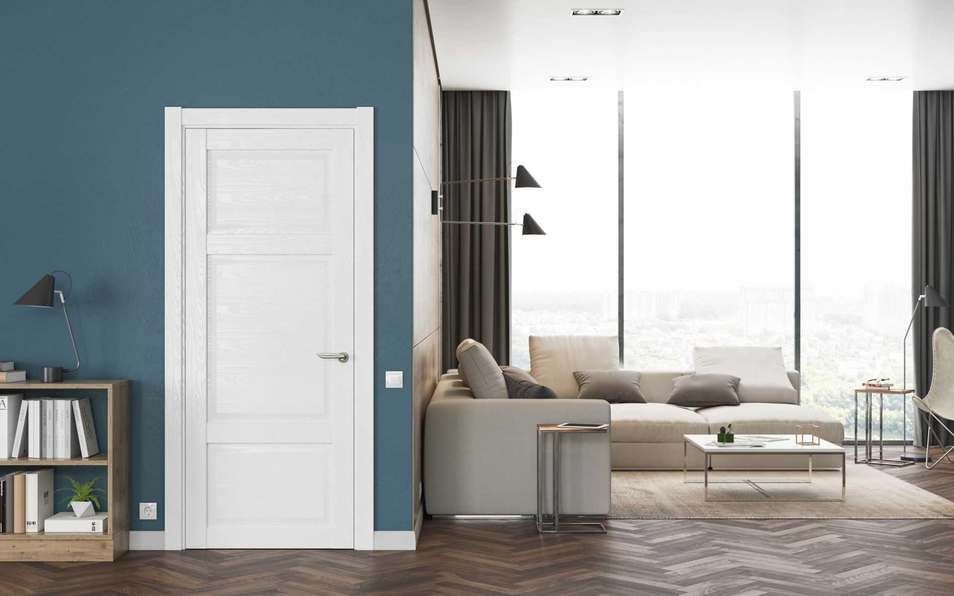 Белые двери в интерьере: фото, советы